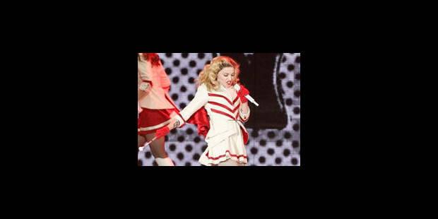 Madonna calme le jeu avec Marine Le Pen - La Libre