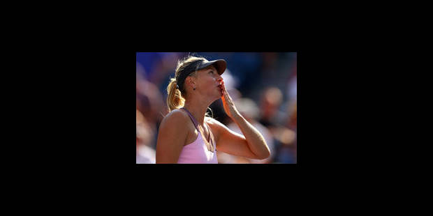 Djokovic et Sharapova gagnent sans problème à l'US Open - La Libre