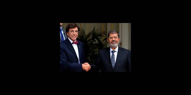 Le président Morsi accueilli à Bruxelles