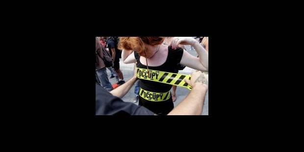 """Le mouvement """"Occupy"""" a un an et veut bloquer la Bourse de New York"""