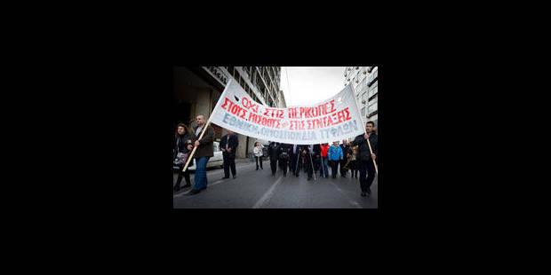 Grève générale en Grèce - La Libre