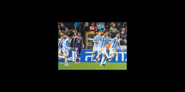Malaga trois fois trop fort pour Anderlecht - La Libre