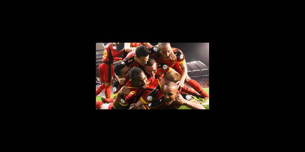 La Belgique confirme face à l'Ecosse (2-0)