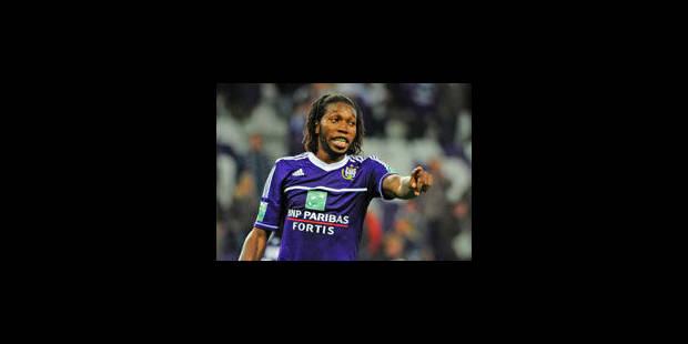 Trois matchs de suspension et 400 € d'amende pour Mbokani - La Libre