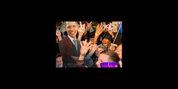 Les jeunes en délire devant la Maison Blanche - La Libre