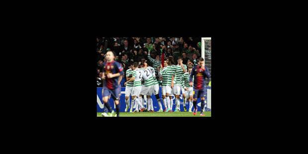 Le Celtic fait chavirer le Barca - La Libre