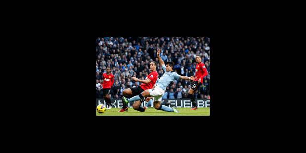 Van Persie donne in extremis la victoire à United sur City - La Libre