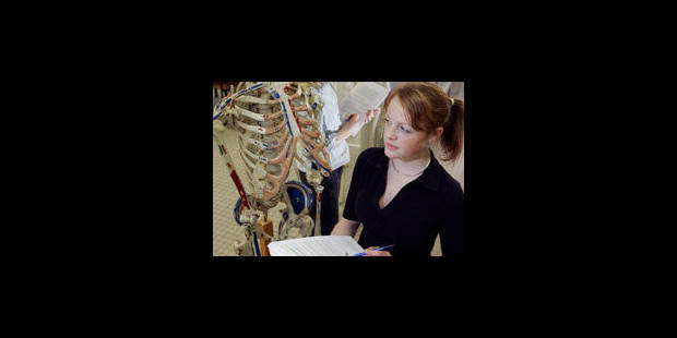 L'effet impitoyable de la réforme des études de médecine - La Libre