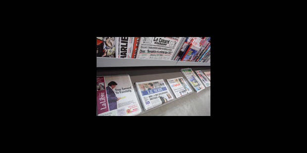 Baisse généralisée des ventes papier pour les journaux francophones en 2012 - La Libre