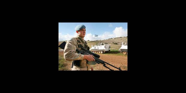 Des militaires belges volés au Liban, la Défense relativise