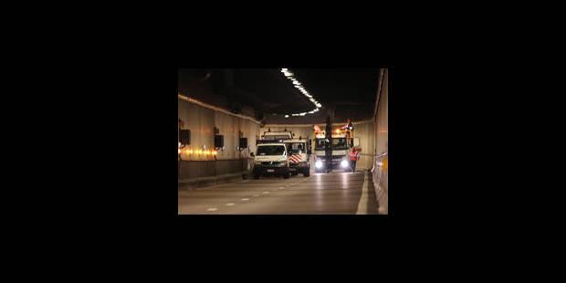 """""""Le tunnel Montgomery restera fermé durant l'heure de pointe"""" - La Libre"""