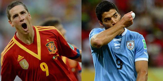 Coupe des Confédérations: l'Espagne et l'Uruguay cartonnent
