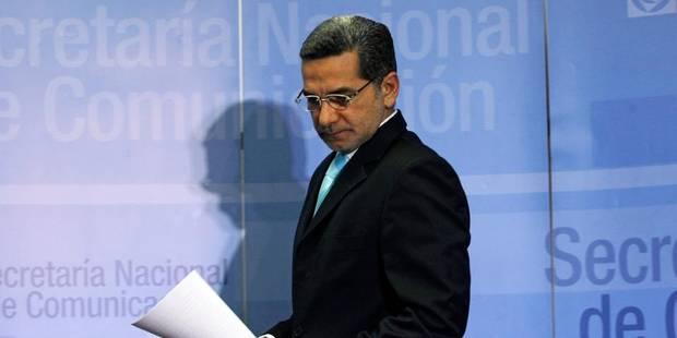 L'Equateur hausse le ton face aux Etats-Unis dans l'affaire Snowden - La Libre