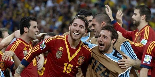 Confédérations : l'Espagne en finale contre le Brésil - La Libre