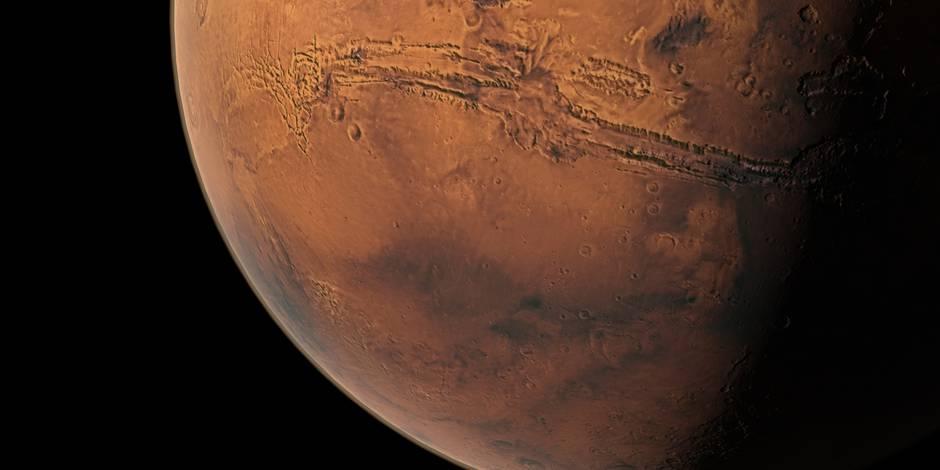 Terre et Mars, un peu cousines