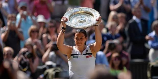 Marion Bartoli, sacrée à Wimbledon (6-1; 6-4) - La Libre