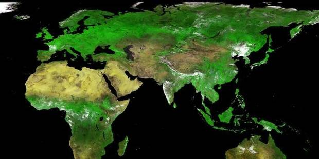 Proba, le satellite qui voit vert - La Libre