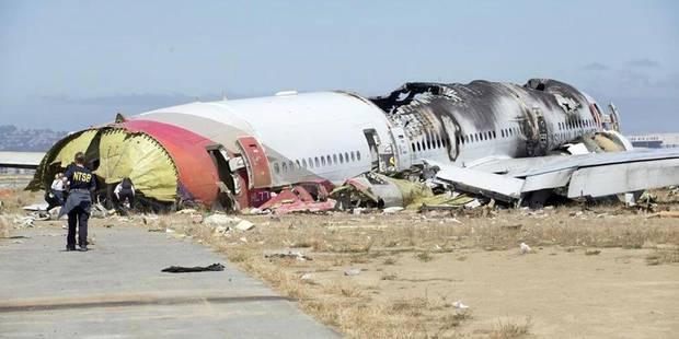 Crash de San Francisco: les pilotes ont essayé d'éviter l'atterrissage - La Libre