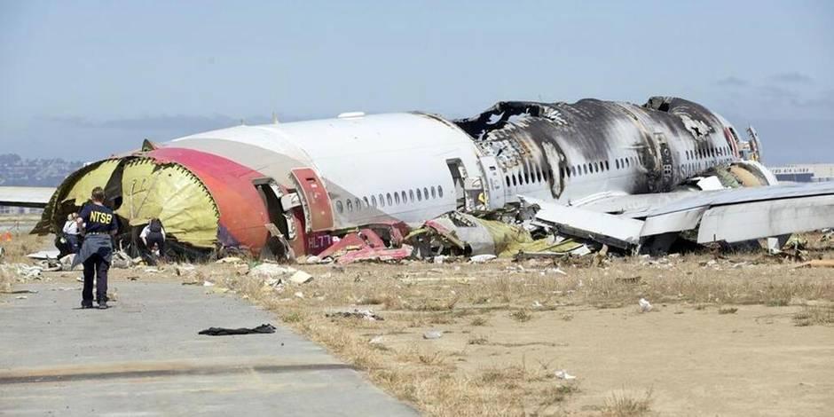 Crash de San Francisco: les pilotes ont essayé d'éviter l'atterrissage