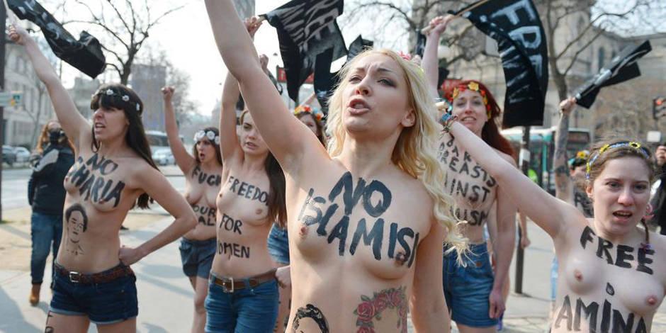 La France a accordé l'asile à la chef de file des Femen