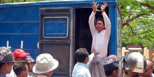 Birmanie: les militants appellent le président à tenir sa promesse - La Libre