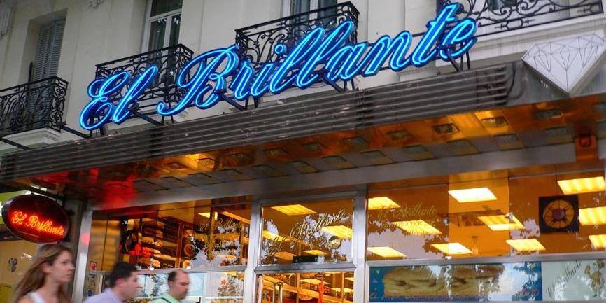 Le bar El Brillante, Madrid