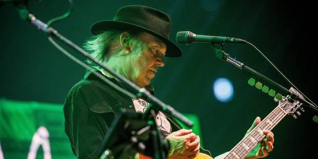 Neil Young annule sa présence au Pukkelpop - La Libre