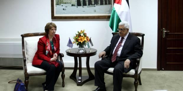 Négociations de paix: les Palestiniens demandent l'aide de l'UE - La Libre