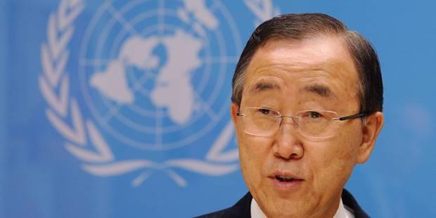 """L'usage d'armes chimiques en Syrie aurait de """"graves conséquences"""", dit Ban Ki-moon - La Libre"""