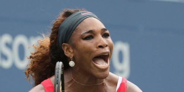 US Open: Serena Williams en quarts de finale contre Carla Suarez - La Libre