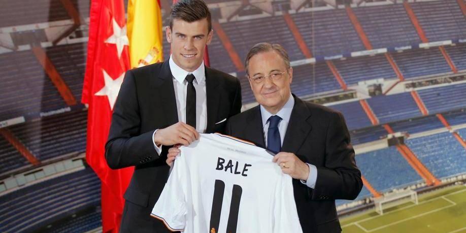 """Gareth Bale: """"Un rêve de jouer pour le Real"""""""