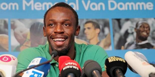 Mémorial Van Damme: Usain Bolt promet de faire le show - La Libre