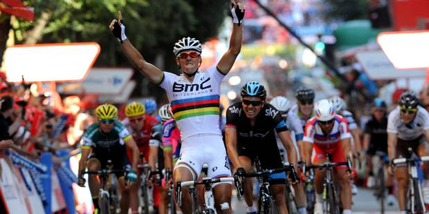 Vuelta: Abandon de Philippe Gilbert dans la 15e étape - La Libre
