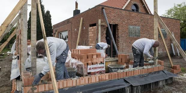Le secteur belge de la construction manque de bras - La Libre