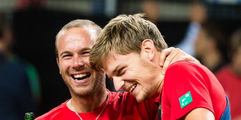 Coupe Davis: La Belgique affrontera le Kazakhstan