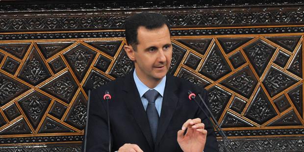 """""""La Syrie a des armes chimiques et elle va les détruire"""" - La Libre"""