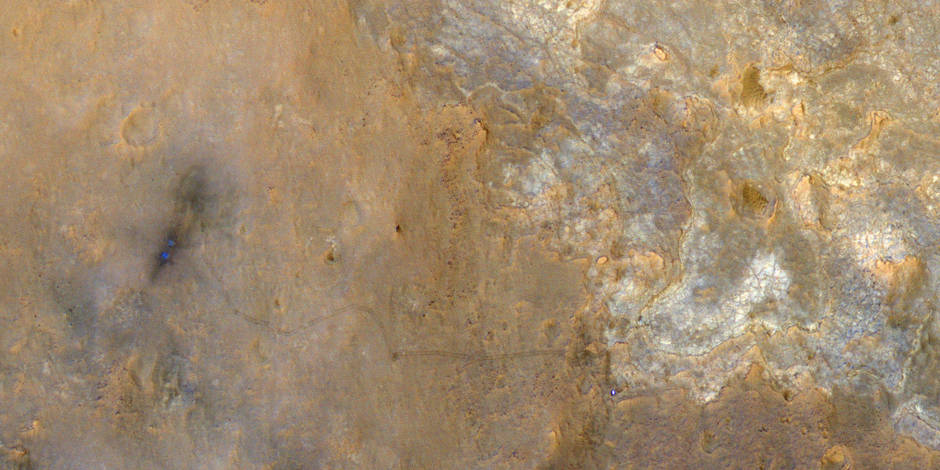 Le sol de Mars contient 2% d'eau