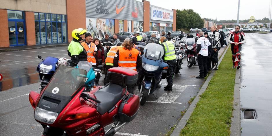 Gerpinnes: motards en colère après un accident mortel