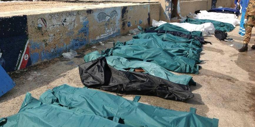 Plus de 130 morts à Lampedusa dans un nouveau drame de l'immigration