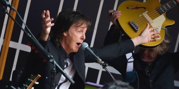Concert surprise de Paul McCartney à New York - La Libre