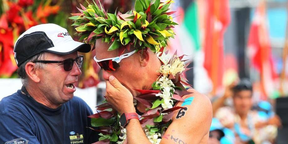 Frederik Van Lierde, l'Ironman belge félicité par Di Rupo