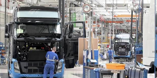 Volvo Trucks investit plusieurs millions à Gand: Peeters enthousiaste - La Libre