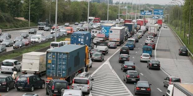 Travaux et ralentissements prévus sur le ring de Bruxelles - La Libre