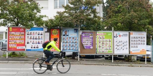 La moitié du Grand-Duché ne vote pas - La Libre