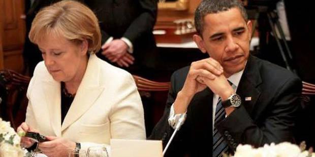 Les Etats-Unis ont arrêté de placer sur écoute Angela Merkel - La Libre
