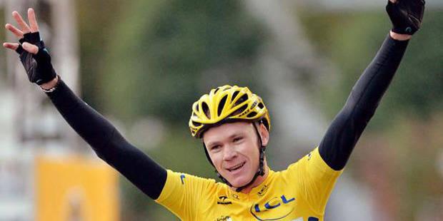 Chris Froome récompensé du Vélo d'Or