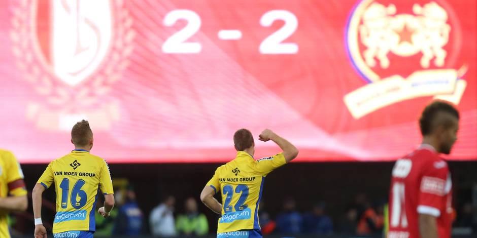 Le Standard perd 2 nouveaux points face à Waasland-Beveren (2-2)