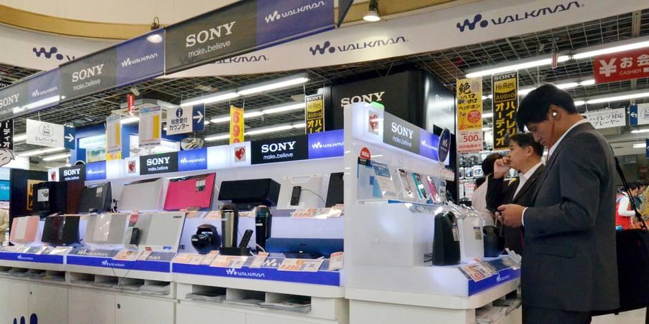 Sony plonge en Bourse face aux méventes de produits électroniques