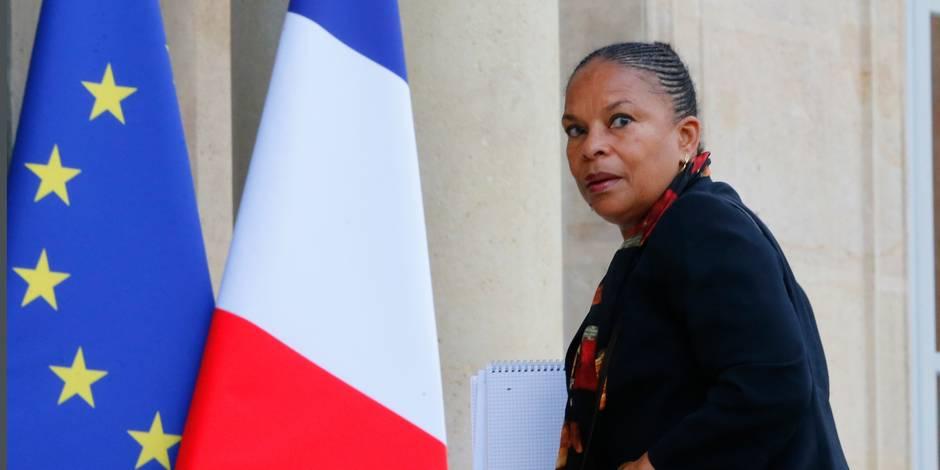 """Racisme: Taubira s'étonne qu'aucune """"belle et haute voix (ne) se soit levée"""""""