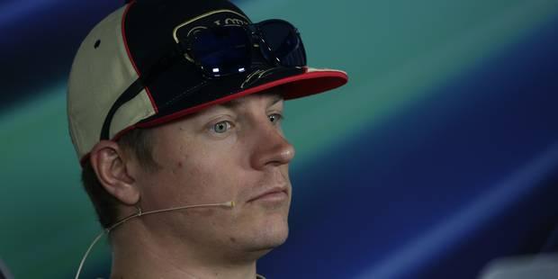Kimi Räikkönen manquera les deux derniers GP de Formule 1 - La Libre